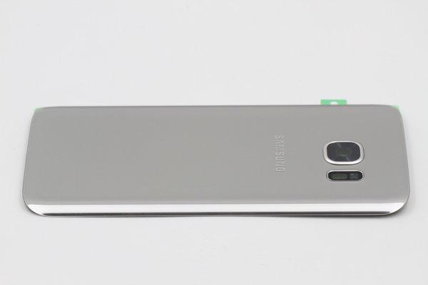 【ネコポス送料無料】Galaxy S7(SM-G930)背面カバー シルバー [4]