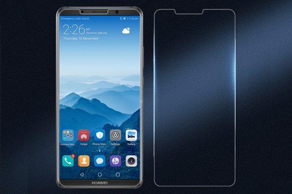 【ネコポス送料無料】Huawei Mate10 Pro 強化ガラスフィルム ナノコーティング 硬度9H  [1]