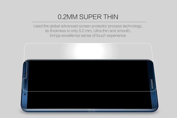 【ネコポス送料無料】Huawei Mate10 Pro 強化ガラスフィルム ナノコーティング 硬度9H  [2]
