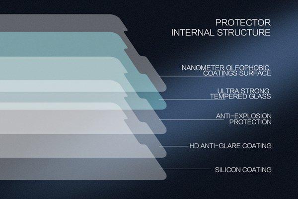 【ネコポス送料無料】Huawei Mate10 Pro 強化ガラスフィルム ナノコーティング 硬度9H  [6]