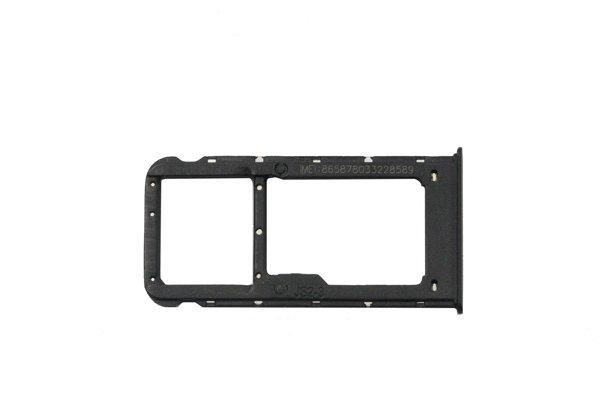 【ネコポス送料無料】Huawei Nova Lite SIMカードトレイ ブラック [3]