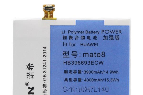 【ネコポス送料無料】Huawei Mate8 互換バッテリー HB396693ECW 4000mAh [3]