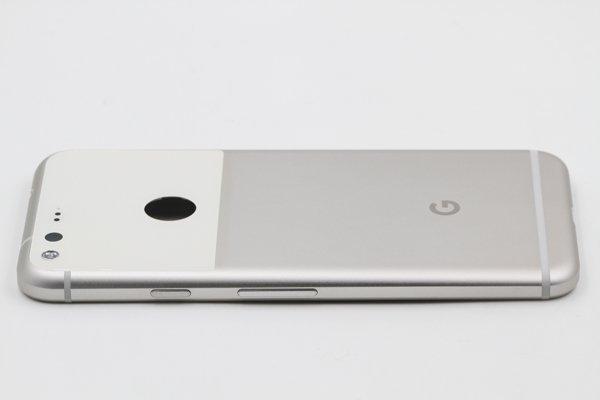 【ネコポス送料無料】Google Pixel バックカバーASSY ホワイト [5]
