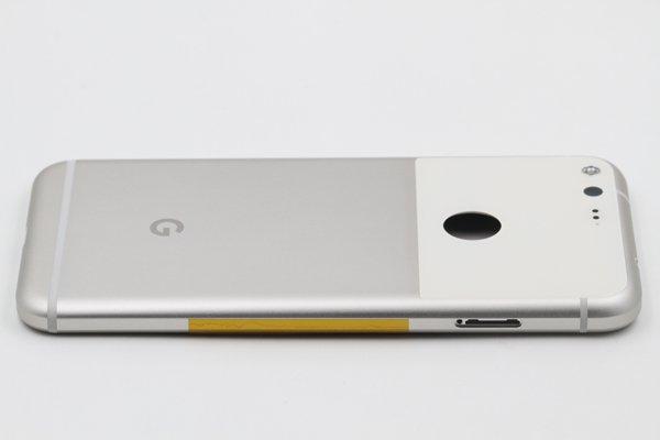 【ネコポス送料無料】Google Pixel バックカバーASSY ホワイト [6]