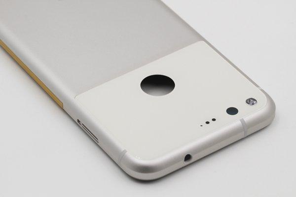 【ネコポス送料無料】Google Pixel バックカバーASSY ホワイト [7]
