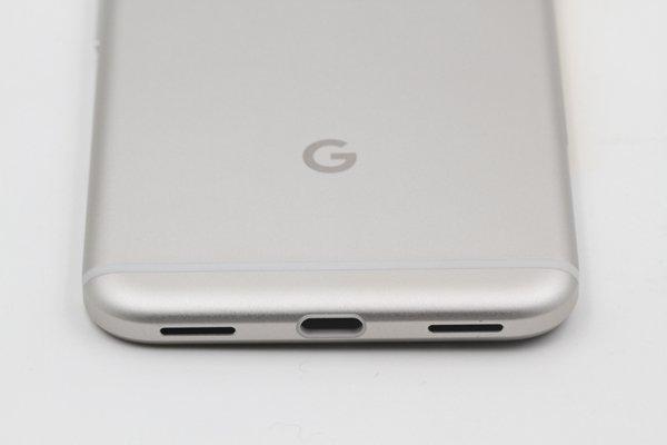 【ネコポス送料無料】Google Pixel バックカバーASSY ホワイト [8]