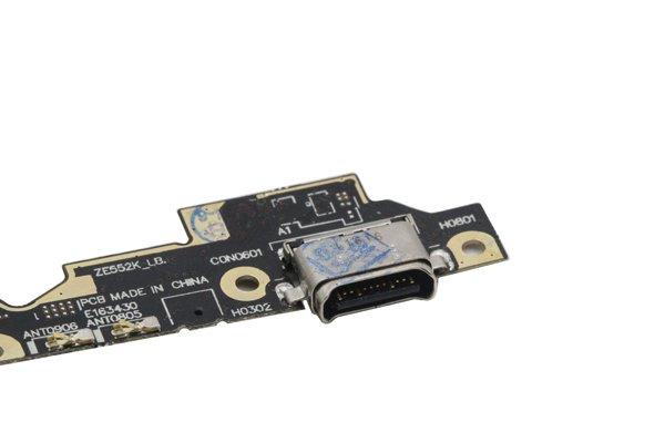 Zenfone3(ZE552KL)USB Type-C コネクターボードASSY 交換修理 [3]