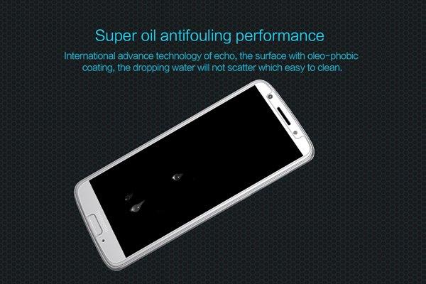 【ネコポス送料無料】Motorola Moto G6 強化ガラスフィルム ナノコーティング 硬度9H [5]