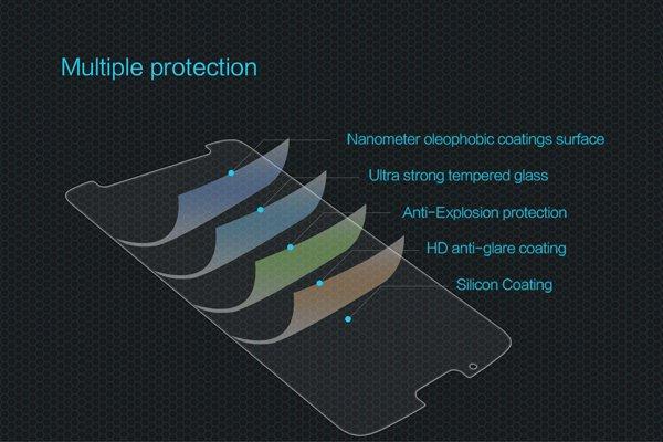 【ネコポス送料無料】Motorola Moto G6 強化ガラスフィルム ナノコーティング 硬度9H [6]