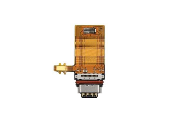 【ネコポス送料無料】Xperia XZ1 USB Type-C コネクターケーブル [1]