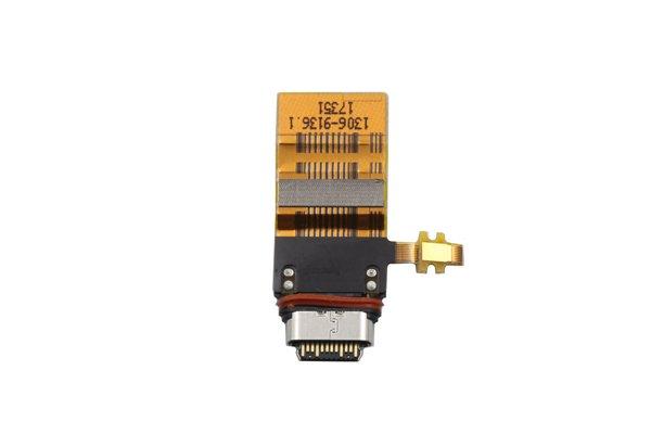 【ネコポス送料無料】Xperia XZ1 USB Type-C コネクターケーブル [2]