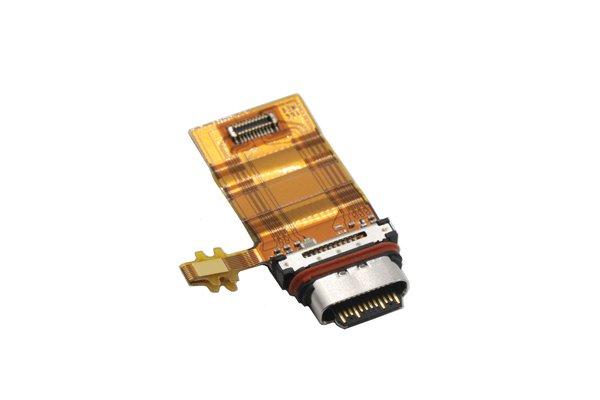 【ネコポス送料無料】Xperia XZ1 USB Type-C コネクターケーブル [3]