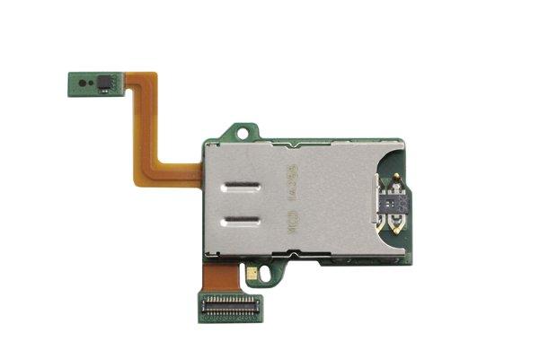 【ネコポス送料無料】Motorola Moto Z Play(XT1635-02)SIM & SDカードスロットケーブルASSY [1]
