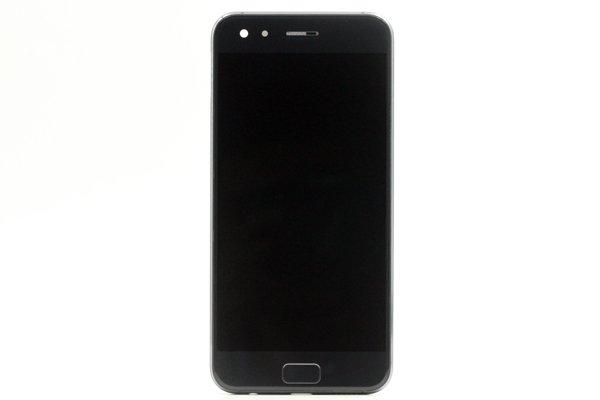 Zenfone4 Pro(ZS551KL)フロントパネルASSY ブラック 交換修理 [1]
