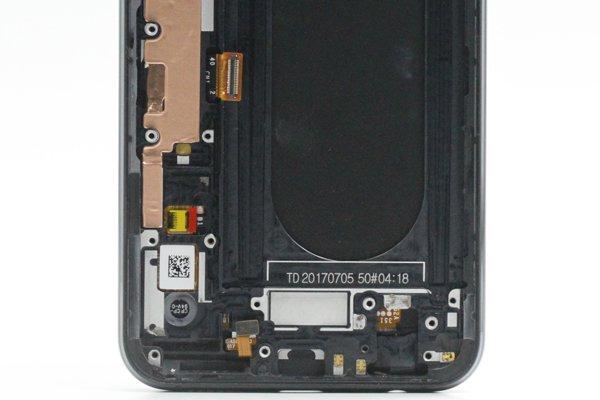 Zenfone4 Pro(ZS551KL)フロントパネルASSY ブラック 交換修理 [4]