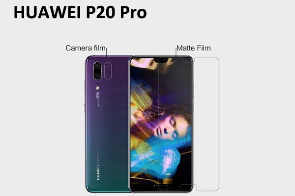 【ネコポス送料無料】Huawei P20 Pro 液晶保護フィルムセット アンチグレアタイプ [1]