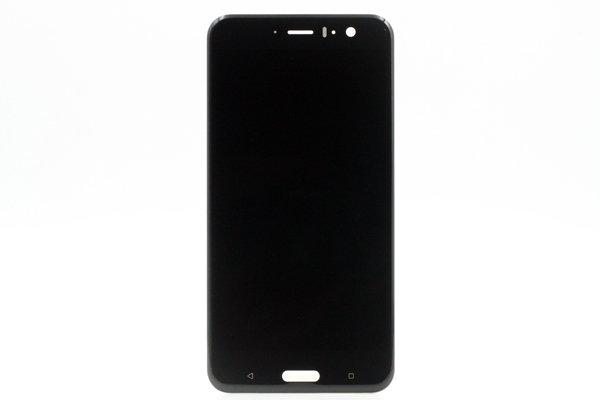 HTC U11 フロントパネル ブラック 交換修理 [1]