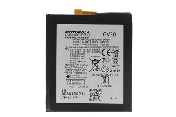 【ネコポス送料無料】Motorola Moto Z (XT1650-03)バッテリー GV30 [1]