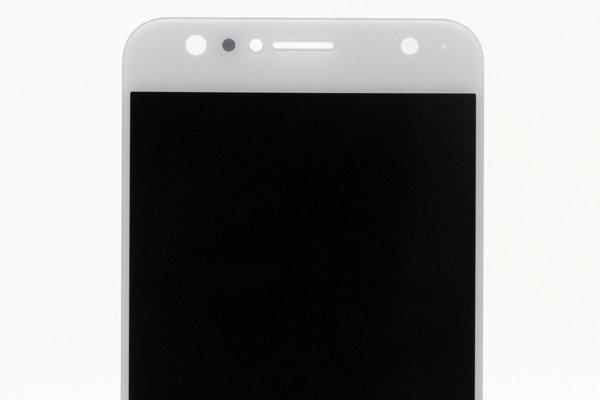 Zenfone4 Selfie(ZD553KL)フロントパネル ホワイト 交換修理 [3]