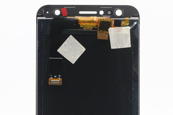 Zenfone4 Selfie(ZD553KL)フロントパネル ホワイト 交換修理 [4]