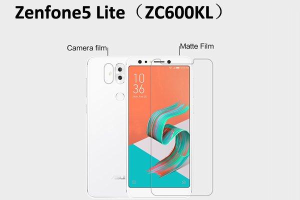 【ネコポス送料無料】Zenfone5 Lite (ZC600KL) 液晶保護フィルムセット アンチグレアタイプ [1]