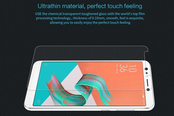 【ネコポス送料無料】Zenfone5 Lite (ZC600KL) 強化ガラスフィルム ナノコーティング 硬度9H [3]