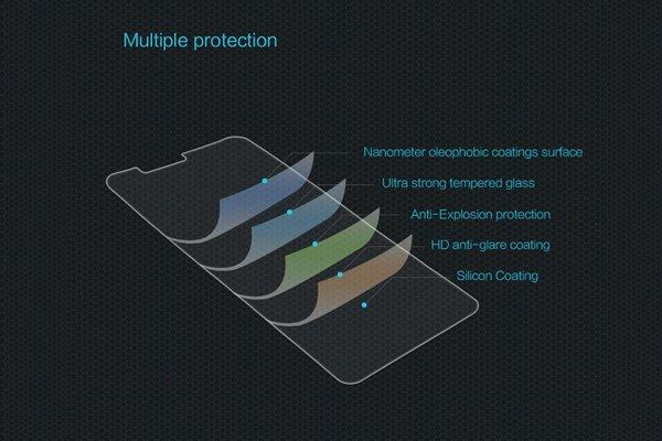 【ネコポス送料無料】Zenfone5 Lite (ZC600KL) 強化ガラスフィルム ナノコーティング 硬度9H [6]