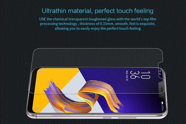 【ネコポス送料無料】Zenfone5 (ZE620KL) 強化ガラスフィルム ナノコーティング 硬度9H [3]