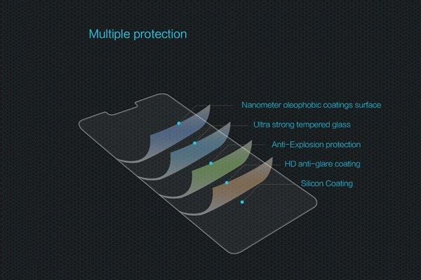 【ネコポス送料無料】Zenfone5 (ZE620KL) 強化ガラスフィルム ナノコーティング 硬度9H [6]