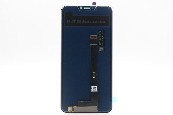 ZenFone 5Z(ZS620KL)フロントパネル ブラック 交換修理 [2]