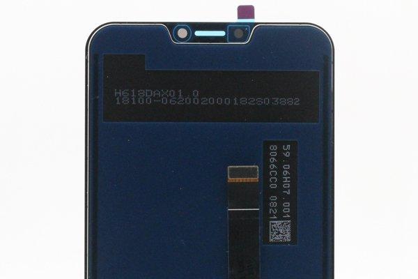 ZenFone 5Z(ZS620KL)フロントパネル ブラック 交換修理 [4]