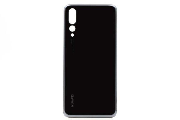 【ネコポス送料無料】Huawei P20 Pro バックカバー ブラック [1]