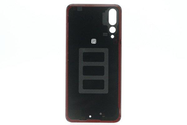 【ネコポス送料無料】Huawei P20 Pro バックカバー ブラック [2]