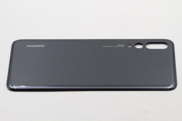 【ネコポス送料無料】Huawei P20 Pro バックカバー ブラック [3]