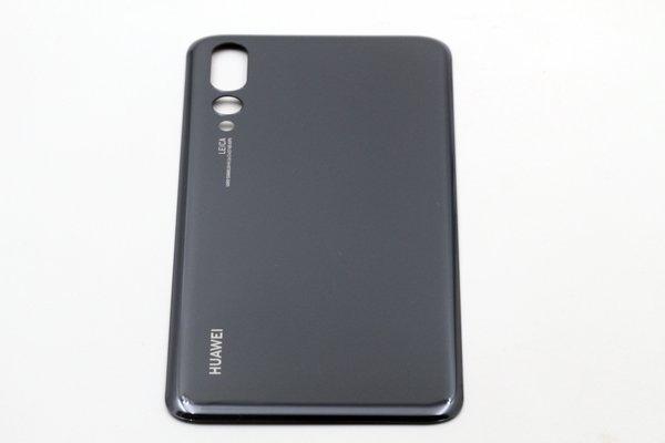 【ネコポス送料無料】Huawei P20 Pro バックカバー ブラック [5]