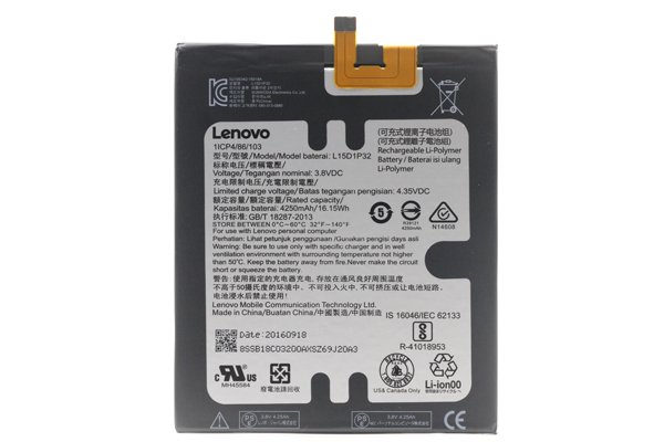 【ネコポス送料無料】Lavie Tab S(TS508FAM)バッテリー L15D1P32 [1]