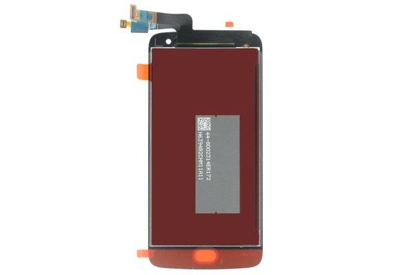 Motorola Moto G5 Plus フロントパネル交換修理 ブラック [2]