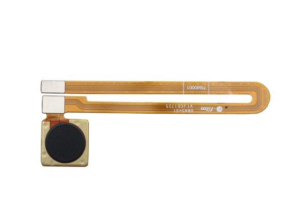 【ネコポス送料無料】OnePlus5T 指紋センサーケーブル ブラック [1]