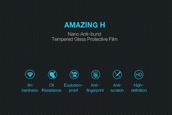 【ネコポス送料無料】Huawei P20 Lite 強化ガラスフィルム ナノコーティング 硬度9H [2]