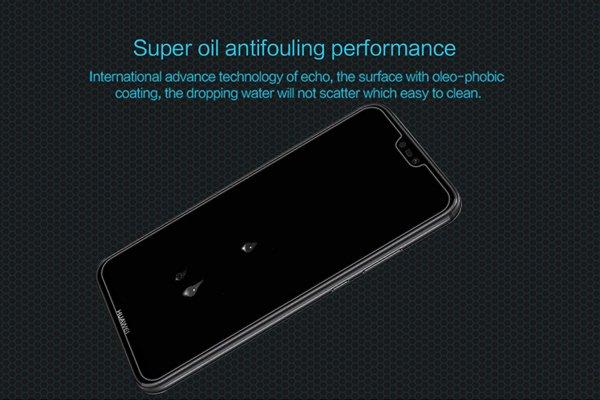 【ネコポス送料無料】Huawei P20 Lite 強化ガラスフィルム ナノコーティング 硬度9H [4]