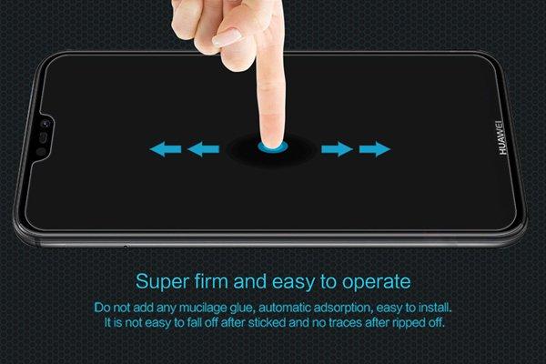 【ネコポス送料無料】Huawei P20 Lite 強化ガラスフィルム ナノコーティング 硬度9H [5]