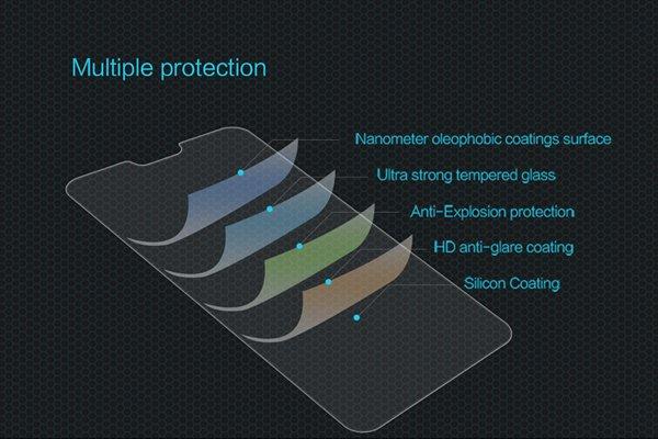 【ネコポス送料無料】Huawei P20 Lite 強化ガラスフィルム ナノコーティング 硬度9H [6]