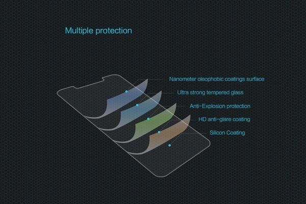 【ネコポス送料無料】Xiaomi(小米)Mi8 強化ガラスフィルム ナノコーティング 硬度9H  [6]