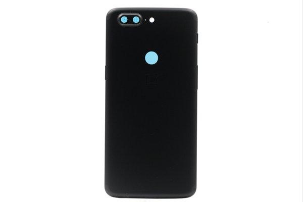 【ネコポス送料無料】OnePlus5T バックカバー ブラック [1]