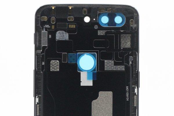 【ネコポス送料無料】OnePlus5T バックカバー ブラック [4]