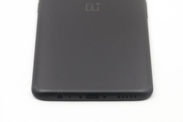 【ネコポス送料無料】OnePlus5T バックカバー ブラック [8]
