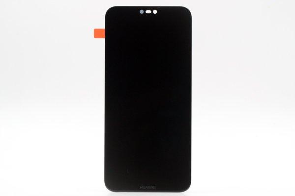 Huawei P20 Lite フロントパネル交換修理 ブラック [1]