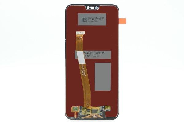 Huawei P20 Lite フロントパネル交換修理 ブラック [2]