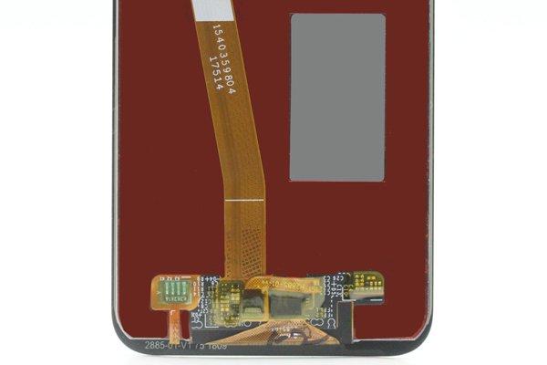 Huawei P20 Lite フロントパネル交換修理 ブラック [4]