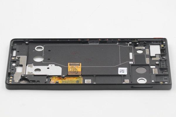 Blackberry KEY2 フロントパネルASSY ブラック 交換修理 [5]